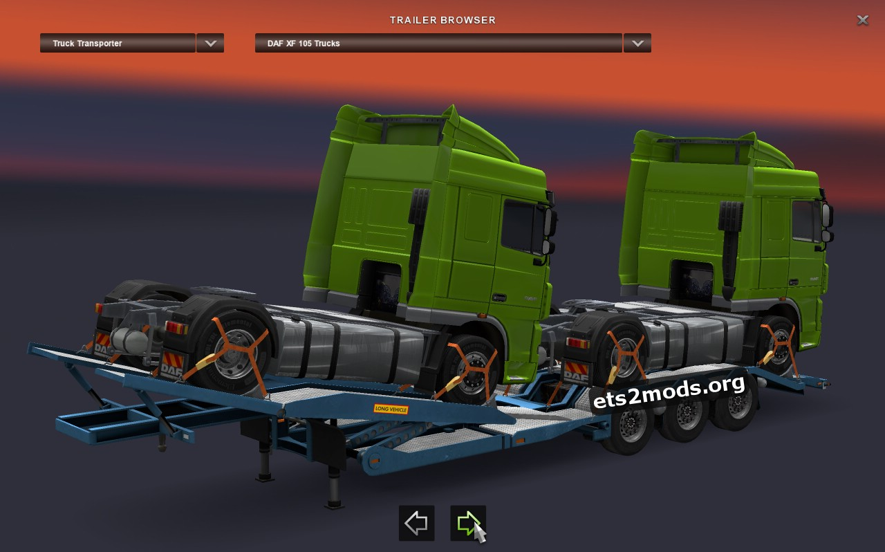 Trailers Pack - Truck Transporter
