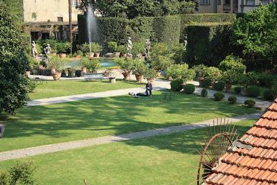Pfanner gardens in Lucca