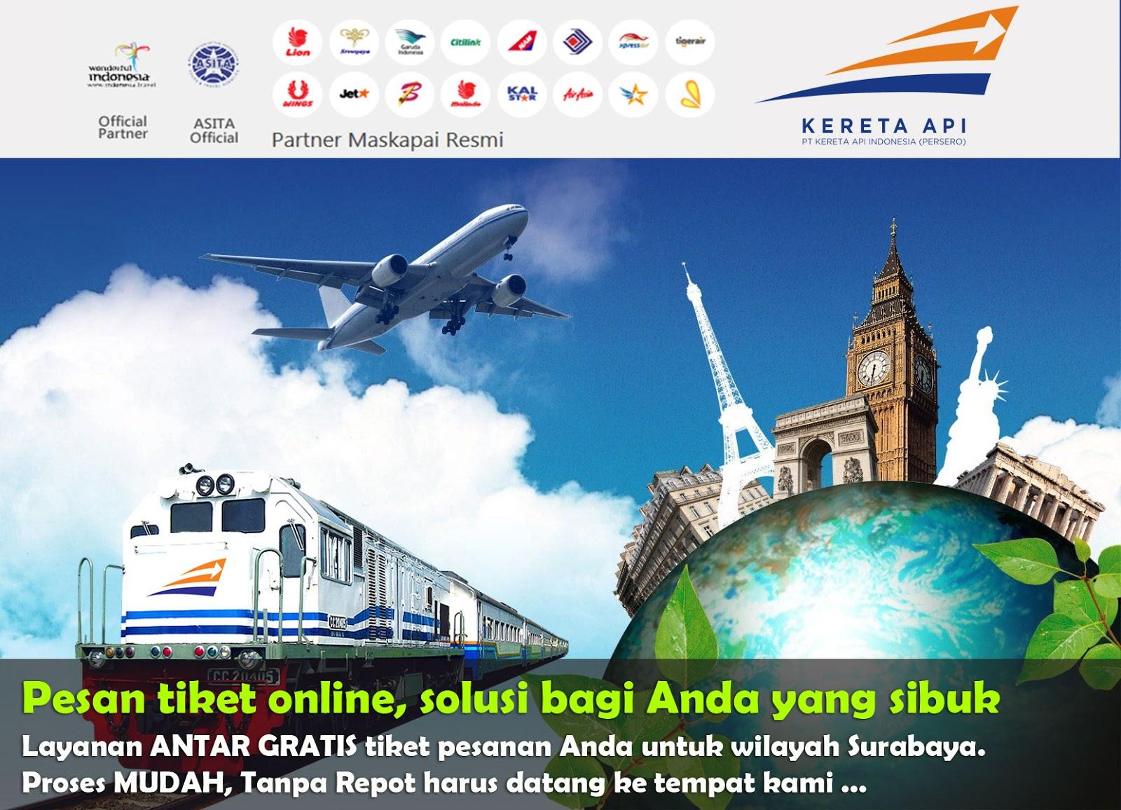 Jasa Penjualan Tiket Online Ashanty Tour And Travel