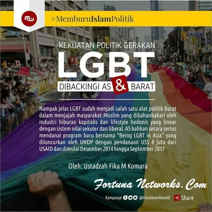 """Indonesia Dalam Dekapan Syahwat """"Budaya Malu Dikikis Habis Gerakan Syahwat Merdeka"""""""