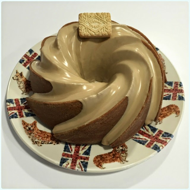 Custard Cream Bundt Cake