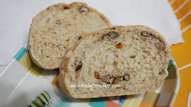 Pecan Peels Wheat Bread DIY recipe 碧根皮香麥包 自家烘焙食譜