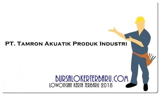PT Tamron Akuatik Produk Industri