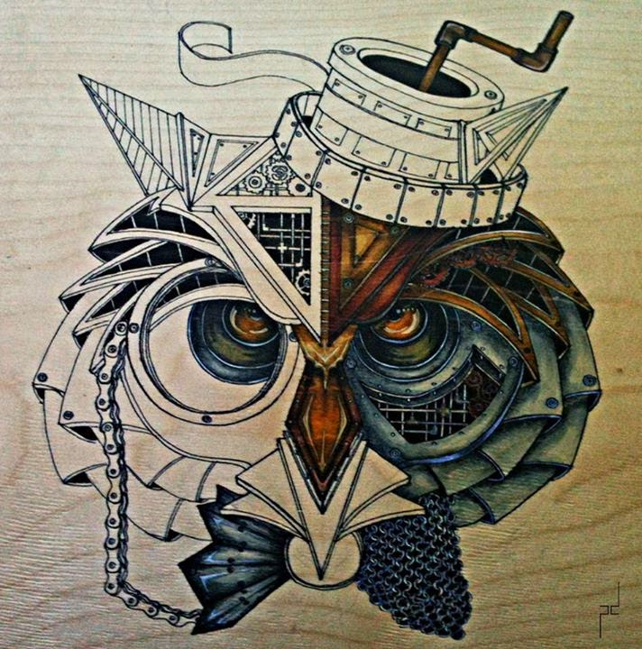 15-Steampunk-Owl-Paula-Duță-Drawing-Animals-Steampunk-Clothing-www-designstack-co