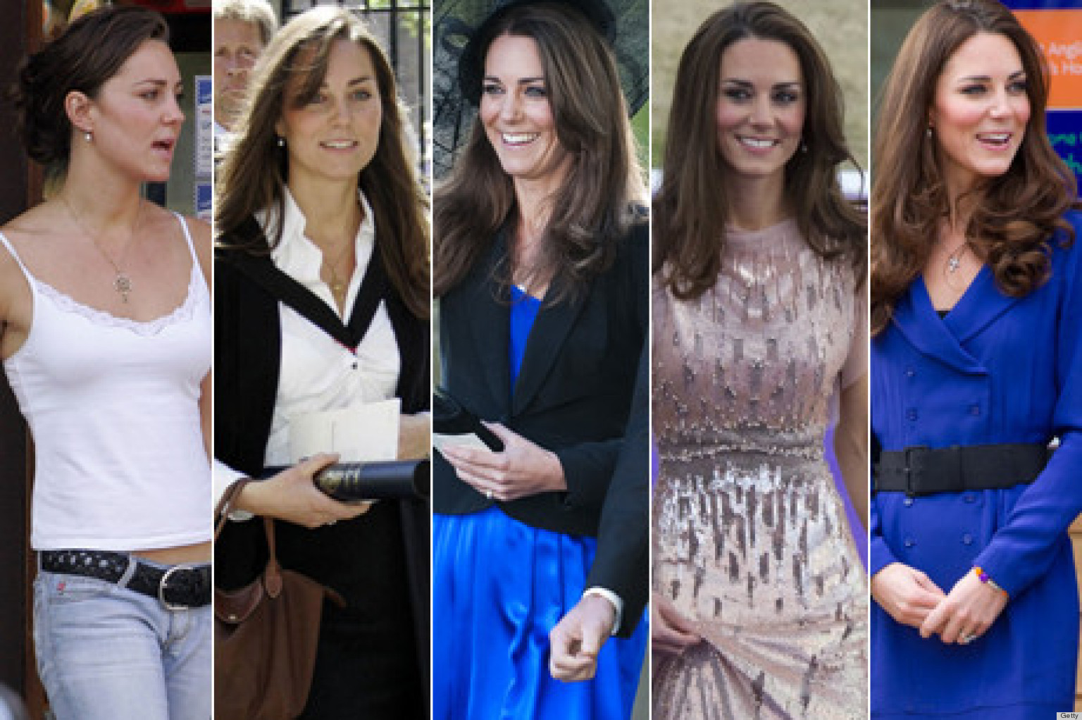 Colection Art Style: kate middleton style evolution