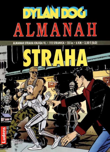Izgubljeni svijet - Almanah Straha Ludens - Dylan Dog
