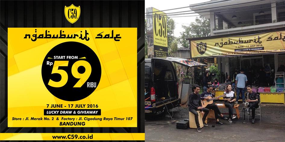 Ngabuburit Sale C59 Bandung Ramadhan 2016