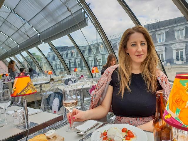 Parigi, ristorante Kong, Notre Dame. Alessia Siena