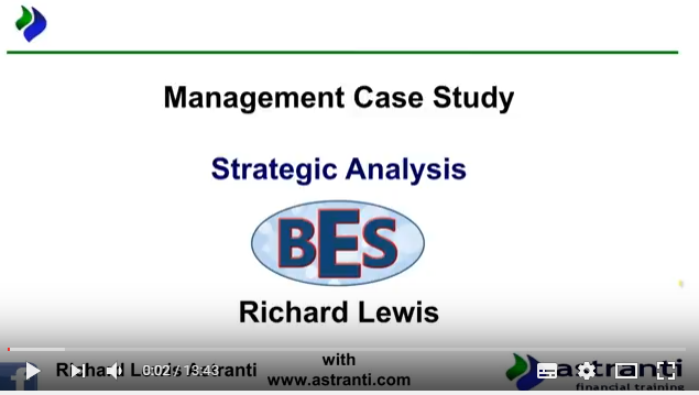 Strategic Analysis of MCS May 2017 - CIMA Management Case Study - BES