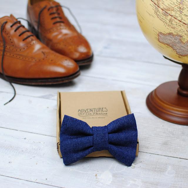bow tie denim