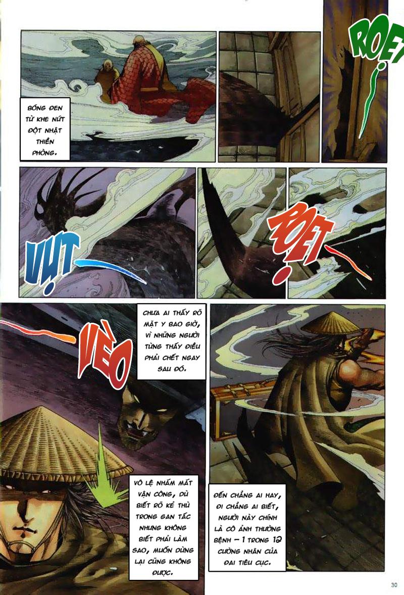 Anh hùng vô lệ Chap 6: Anh hùng hữu lệ trang 30