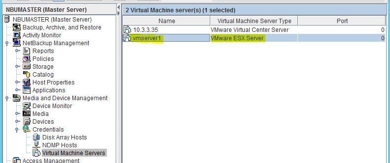 Remote Infrastructure Management: NetBackup 7 7 2 VMware
