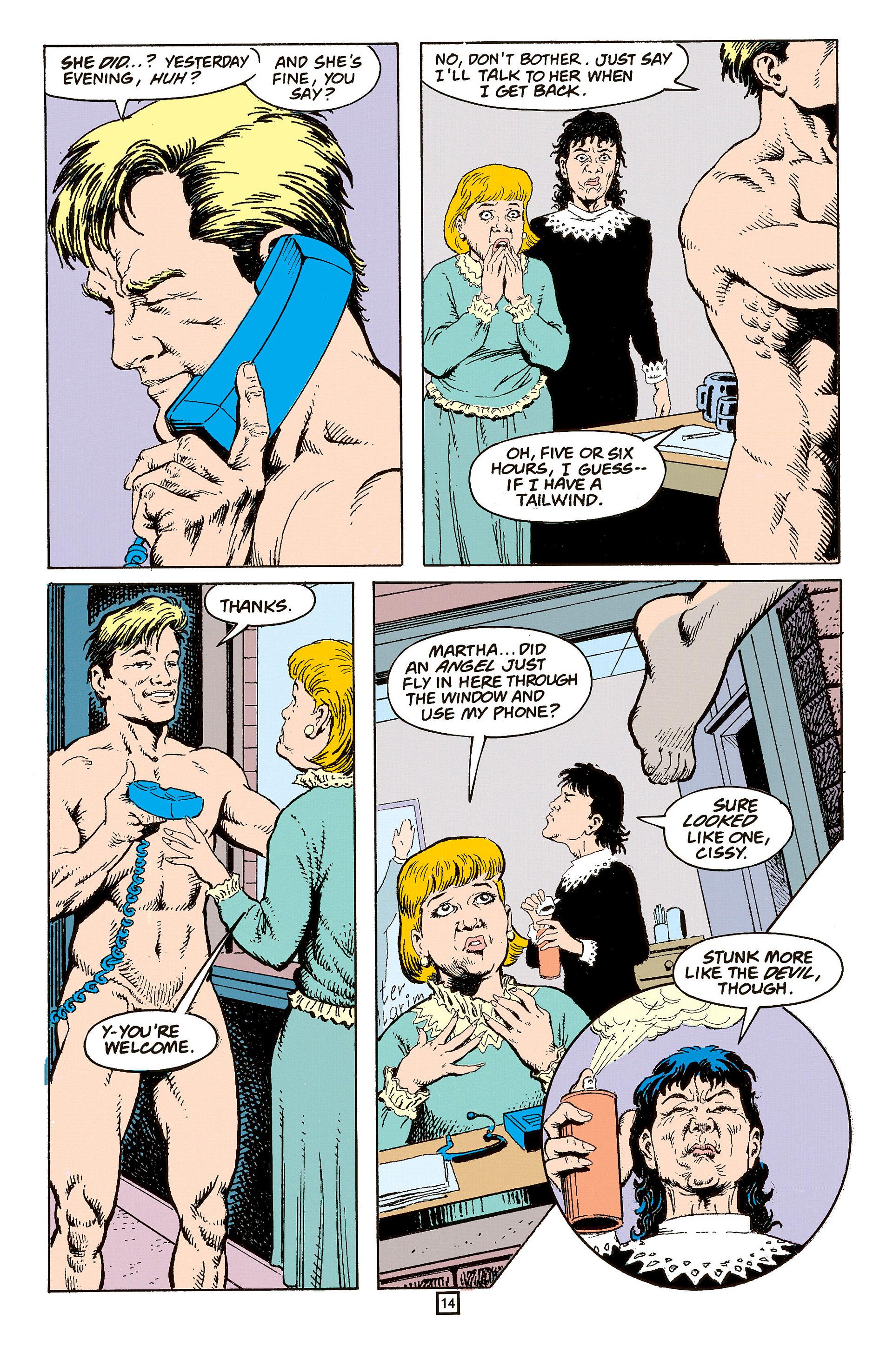 Read online Animal Man (1988) comic -  Issue #60 - 15