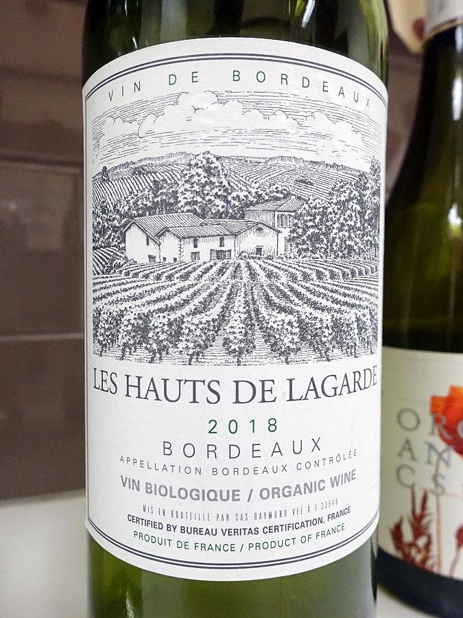 Château Les Hauts de Lagarde Blanc 2018 (89 pts)