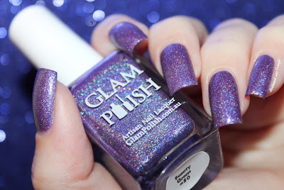 """Swatch of the nail polish """"Beauty Queen"""" from Glam Polish"""