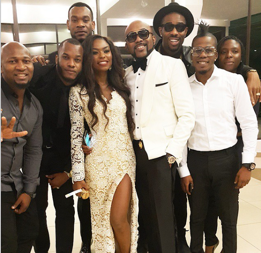 01 Photos: Nigerian stars at Channel O Awards