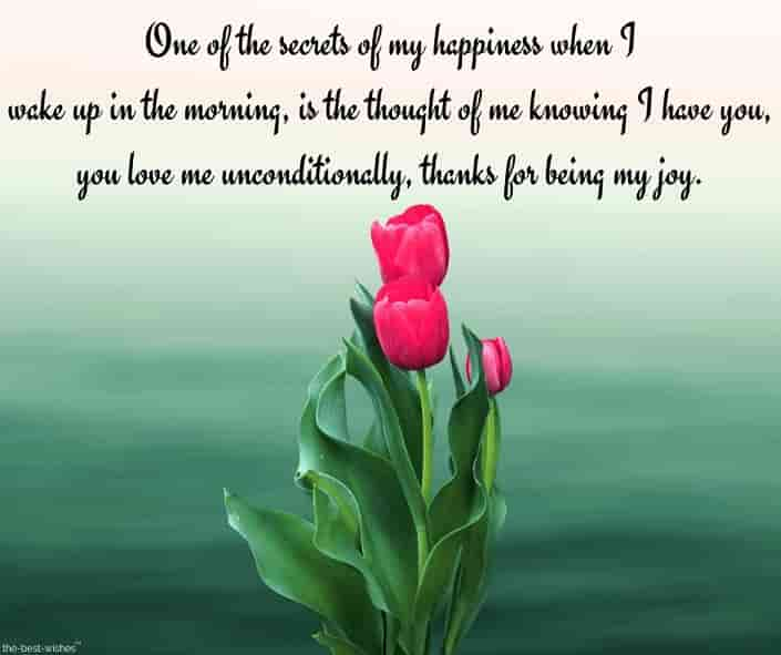 good morning love letter to my sweetheart with roses