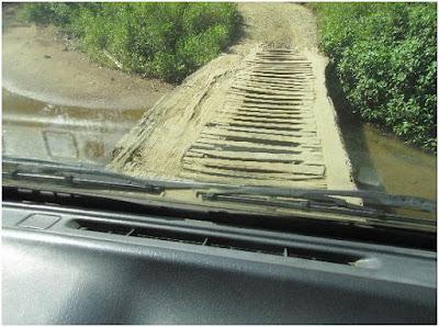 Dangerous road conditions in Costa Rica
