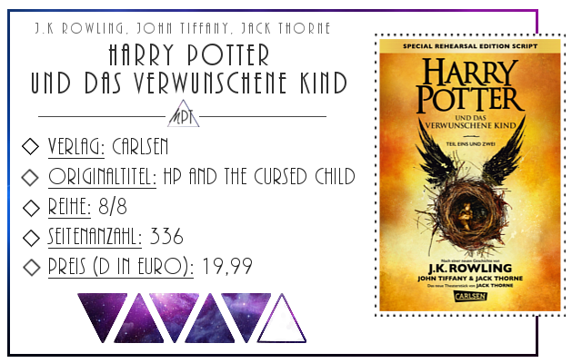 [Rezension] Harry Potter und das verwunschene Kind - J.K. Rowling (u.a.)