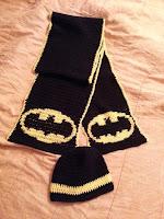 Batman Scarf and Beanie