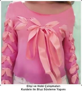 Bluz Süsleme - Moda Tasarım 3