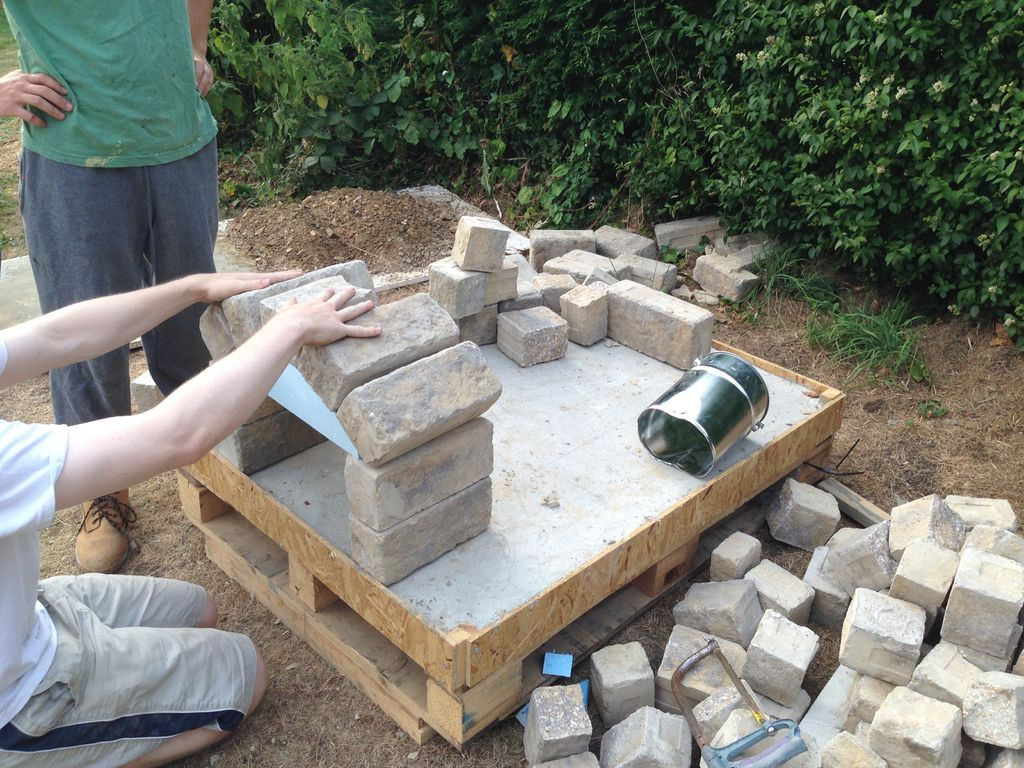 DIY Outdoor Pizza Oven Project - Decor Units