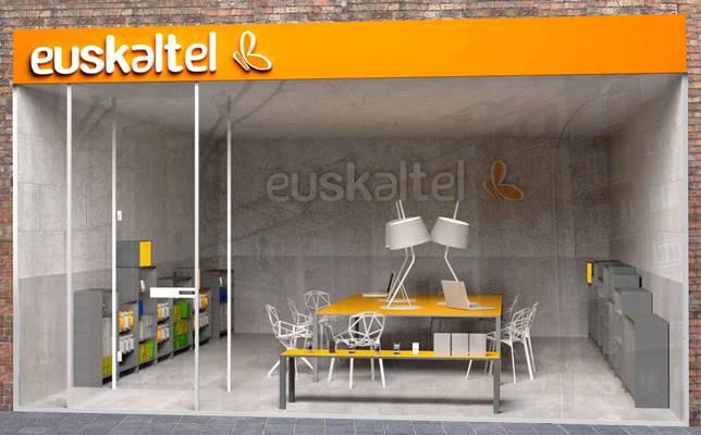 Prototipo tienda Euskaltel, operador virtual de pais vasco