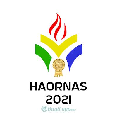 Logo Hari Olahraga Nasional 2021 (HAORNAS) vector