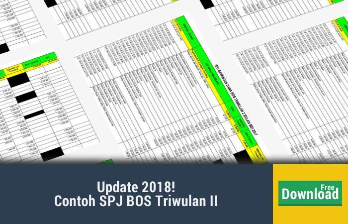 Contoh SPJ BOS Triwulan II
