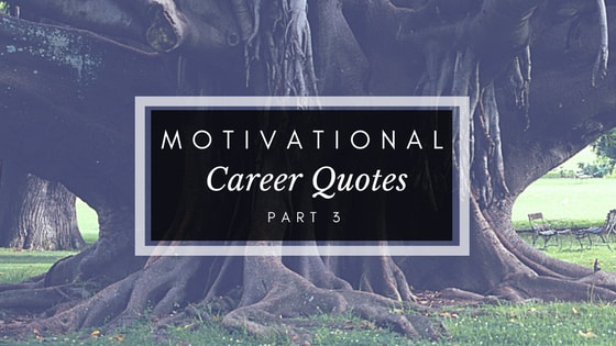 Motivational Career Quotes - Part 3