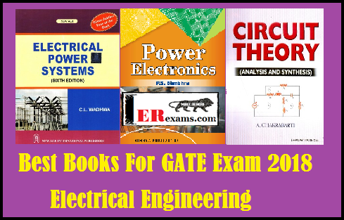 Best Books For GATE Exam 2018 Electrical Engineering