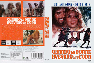 Carátula dvd: Cuando las mujeres tenían cola (1970), Quando le donne avevano la coda