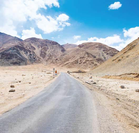 Gurun Pasir Ladakh india utara