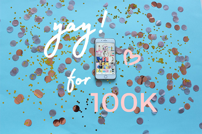 Tilly and the Buttons reach 100k on Instagram!
