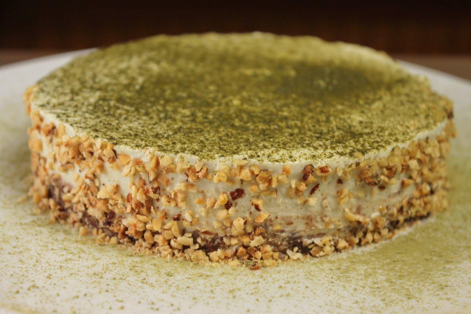 Matcha Cake No Bake Kuchen Ohne Zucker Glutenfrei Jamblog