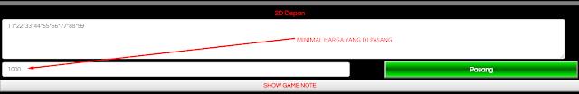 Panduan Cara Bermain Game 2D Depan Dengan * Bintang
