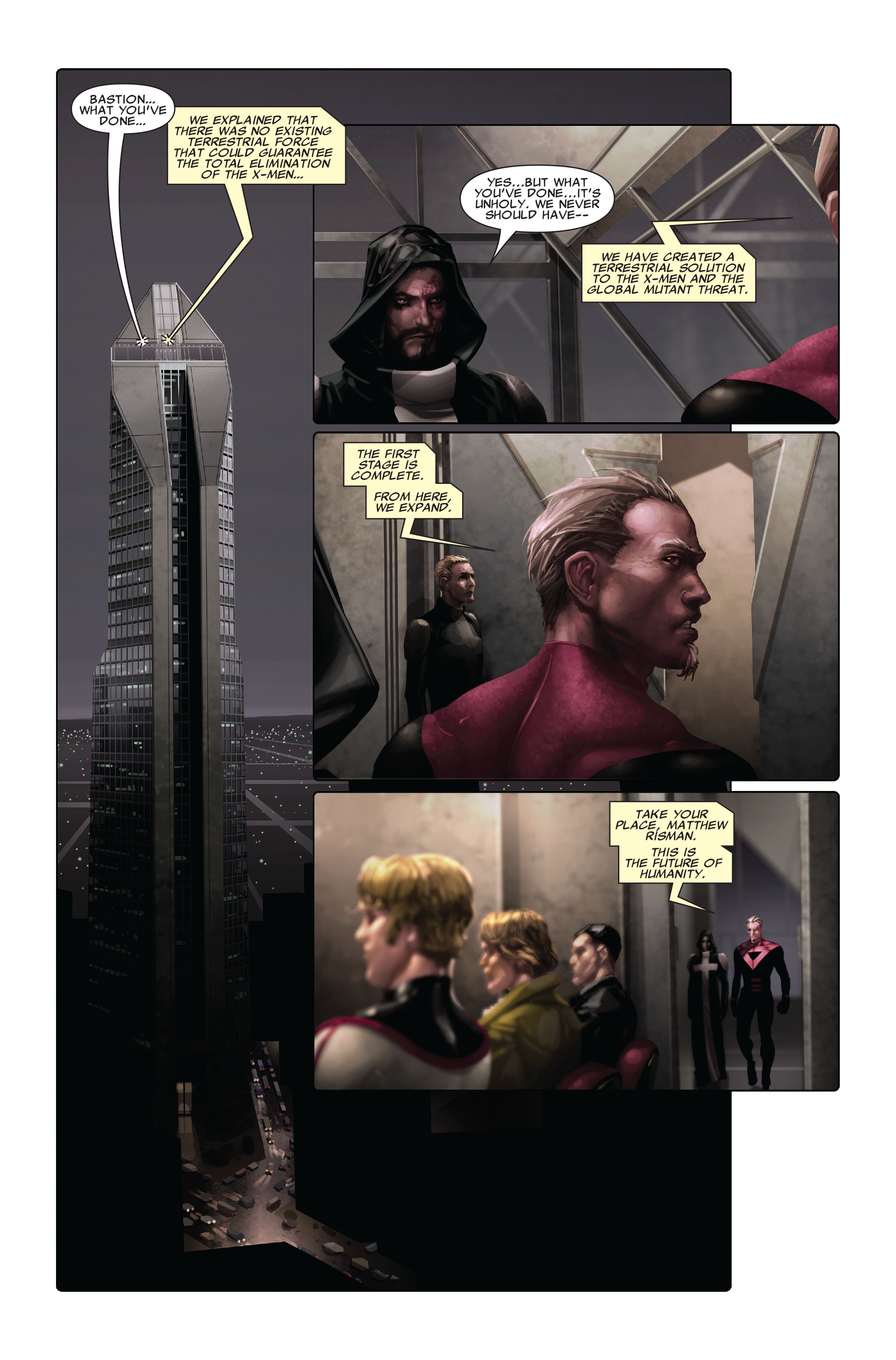 Read online X-Force (2008) comic -  Issue #3 - 22