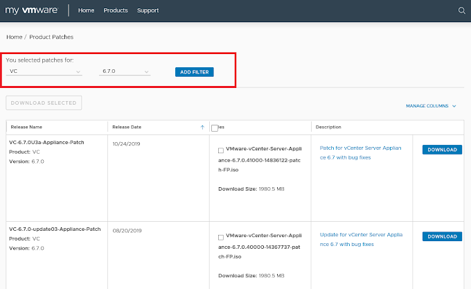 How to Update VMware vCenter Server Appliance 6.7 with External PSC