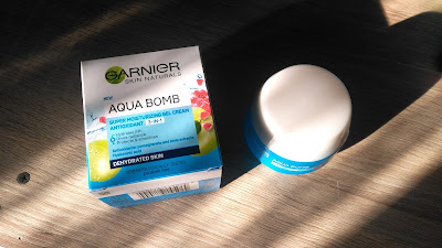 Recenzja - Garnier Aqua Bomb nawilżający żel-krem o działaniu antyoksydacyjnym