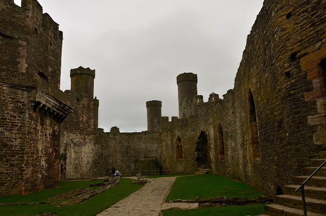 Conway Castle, Wales UK