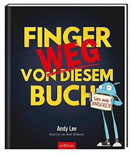 Cover von Andy Lee - Finger weg von diesem Buch. Lies was Anderes!