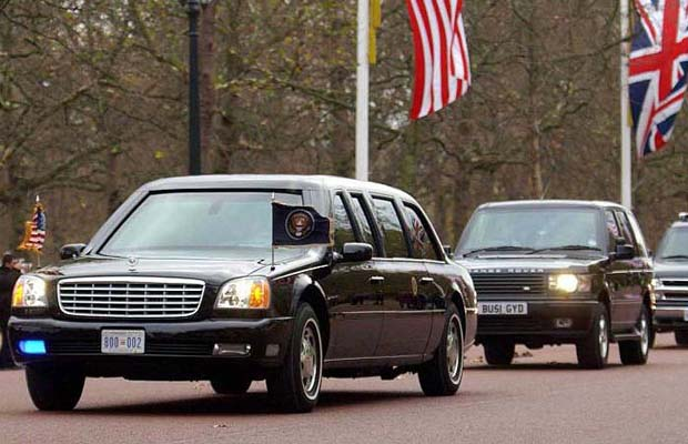 History of US Presidential Limos ~ vintage everyday