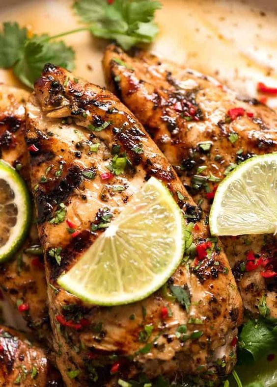 Lime Grilled Chicken