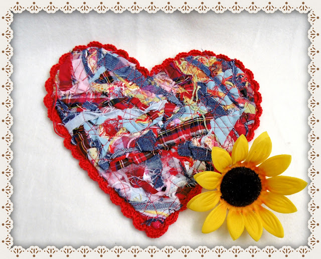 #grazy#patchwork #heart#mothers#day
