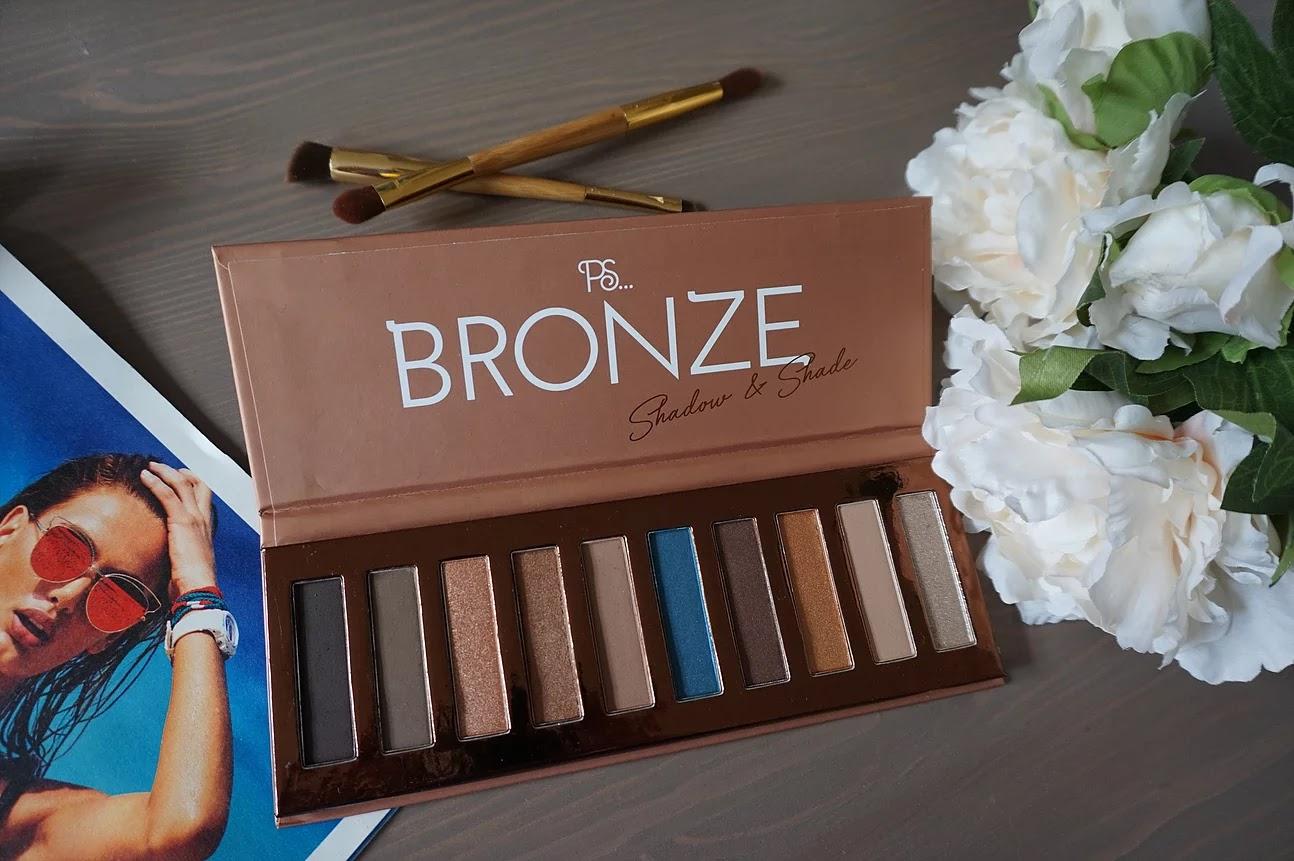 Primark Bronze eyeshadow palete