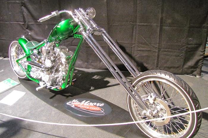 motorbike custom chopper kustom kulture 2014