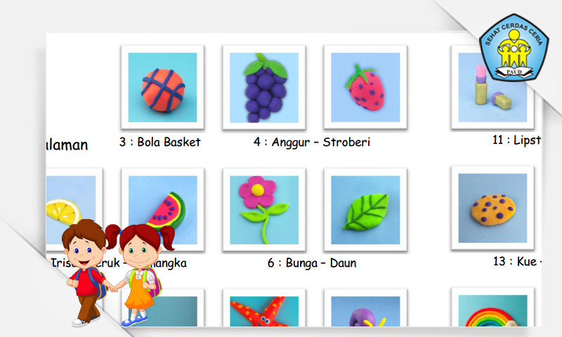 Media Pembelajaran PAUD - 25 Ide Kreasi Plastisin Play Doh untuk PAUD TK KB TPA