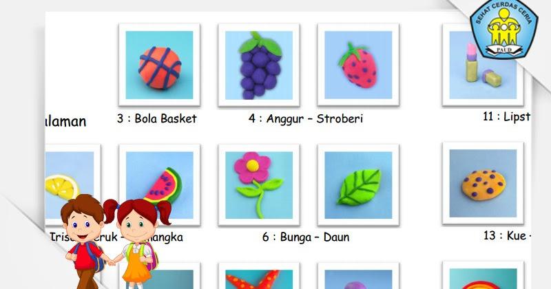 Download Gratis Media Pembelajaran Paud 25 Ide Kreasi Plastisin Play Doh Untuk Paud Tk Kb Tpa