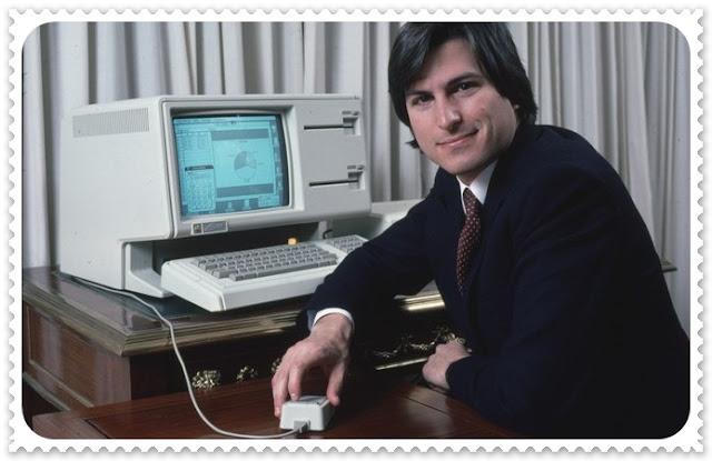 Steve Jobs - computador Lisa lançado em 1.983