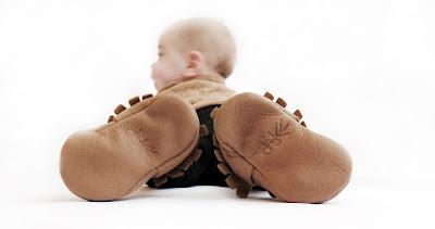 נעלי מוקסינים לתינוקות